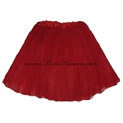 Adult Xtra Plus Size Red Tutu