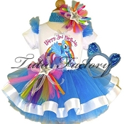 Rainbow Dash Tutu Set with Ears