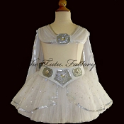 GALACTIC PRINCESS Tutu . Belt . Cape . 2T to 6X