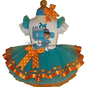Cheerleader Tutu Set Miami