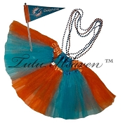 Girls Plus Size Team Spirit Tutu Set MIAMI