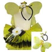 Bumble Bee Tutu Set with WIngs