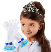 Disney Cinderella Tiara & Gloves
