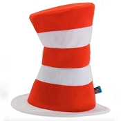 DR.SEUSS Cat in the Hat Adult Top Hat