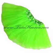 Girls Neon Green Tutu