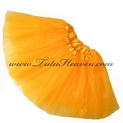 Girls Neon Orange Light Tutu