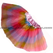 Girls Pink Rainbow Tutu