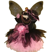 Gothic Spider Fairy Tutu Set Black Pink with Top
