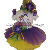 Mardi Gras Party Scoop Tutu Set