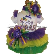 Mardi Gras Party Tutu Set