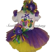 Mardi Gras Jester 2018 Scoop Tutu Set