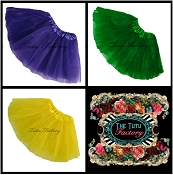 Girls to Plus Size Mardi Gras Tutus