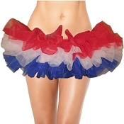 Teen Americana Tutu Made in the USA