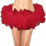 Teen Red Tutu Made in the USA