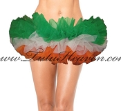 Teen St Patricks Day Flag Tutu Made in the USA
