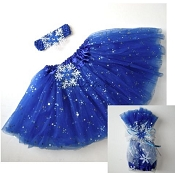 TuTu to Go Snowflake Royal Blue