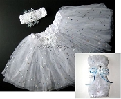 TuTu to Go Snowflake White