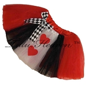 SHORT Queen of Hearts Tutu