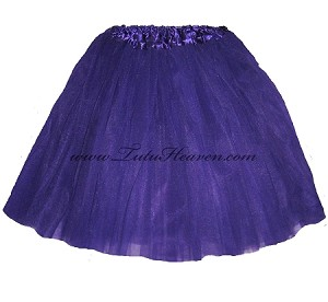 Adult Plus Size Purple Tutu