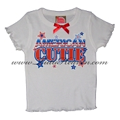 4th of July Toddler Tee AMERICAN CUTIE