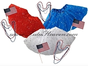 4th of July Sequin Tutu Girls Party Pak