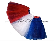 SHORT 4th of July American Flag Tutu