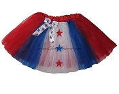 LONG 4th of July Patriotic Tutu