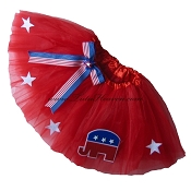 REPUBLICAN Party Tutu SHORT