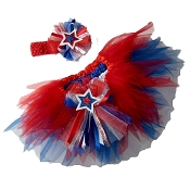 4th of July Sparkler Tutu Set