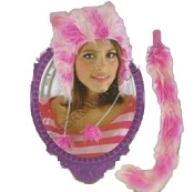 DISNEY Cheshire Cat Hat Set