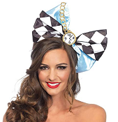 Alice in Wonderland Jumbo Bow Headband