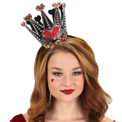 Queen of Hearts Foil Crown