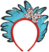 DR.SEUSS Thing1 Thing 2 Glitter Headband