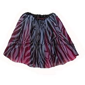 LONG Zebra Hot Pink Tutu