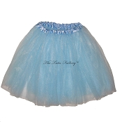 LONG Light Blue Tutu