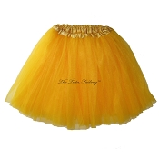 LONG Yellow Gold Tutu