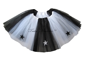 LONG ALLSTAR Tutu White Black