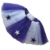 SHORT ALLSTAR Tutu White Purple