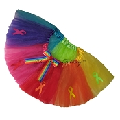 SHORT GAY PRIDE RAINBOW Tutu Short