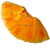 LT NEON ORANGE Awareness Tutu SHORT