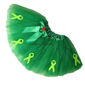 KELLY GREEN Awareness Tutu SHORT