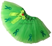 LIME GREEN Awareness Tutu SHORT