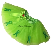 NEON GREEN Awareness Tutu SHORT