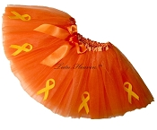 ORANGE Awareness Tutu SHORT