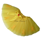 YELLOW Awareness Tutu SHORT
