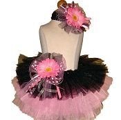 Birthday Tutu Black Pink