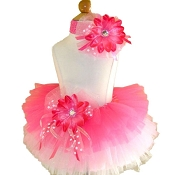 Birthday Tutu Pink White
