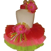Birthday Tutu Strawberry Pink