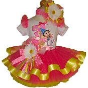 Despicable Me Agnes Ribbon Tutu Set