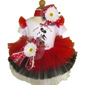 Minnie Mouse Retro Tutu Set